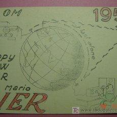 Radios antiguas: 622 QSL CARD TARJETA RADIO ITALIA ITALY- MAS DE ESTE TIPO EN MI TIENDA COSAS&CURIOSAS. Lote 4639765