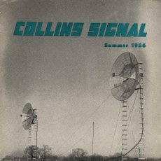 Radios antiguas - REVISTA COLLINS SUMMER 1956 ( ENVIO GRATUITO ) - 27525082