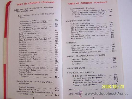 Radios antiguas: RCA-REFERENCE BOOK-1965-IBERONICS, S.A.-MAD.RADIO CORPORATION OF AMERICA.ELEC. COMP. AND DEVICES - Foto 4 - 77672406