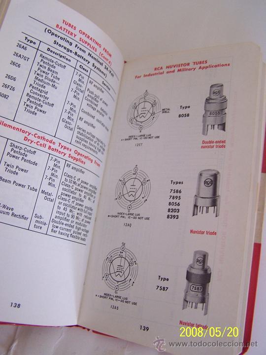 Radios antiguas: RCA-REFERENCE BOOK-1965-IBERONICS, S.A.-MAD.RADIO CORPORATION OF AMERICA.ELEC. COMP. AND DEVICES - Foto 7 - 77672406