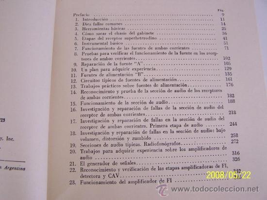 Radios antiguas: MANUAL PRÁCTICO DE RADIO REPARACIONES-WILLIAM MARCUS Y ALEX LEVY-1960-TRA: ADOLFO DE MARCO. - Foto 2 - 23827404
