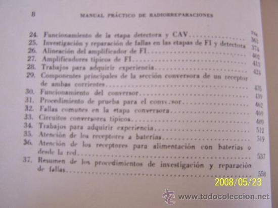 Radios antiguas: MANUAL PRÁCTICO DE RADIO REPARACIONES-WILLIAM MARCUS Y ALEX LEVY-1960-TRA: ADOLFO DE MARCO. - Foto 3 - 23827404