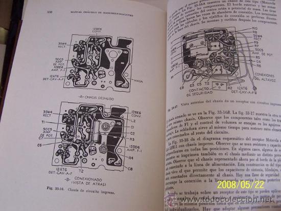 Radios antiguas: MANUAL PRÁCTICO DE RADIO REPARACIONES-WILLIAM MARCUS Y ALEX LEVY-1960-TRA: ADOLFO DE MARCO. - Foto 7 - 23827404