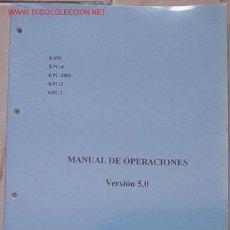 Rádios antigos: MANUAL DE OPERACIONES KANTRONICS EN ESPAÑOL... SANNA. Lote 13782751