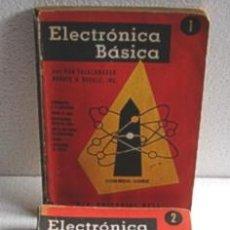Radios antiguas: ELECTRONICA BASICA, 4 TOMOS DE COLECCION!. Lote 26585860