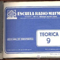 Radios antiguas: ESCUELA RADIO MAYMO . Lote 10662499