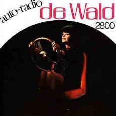 Radios antiguas: CATALOGO DE RADIO DE WALD AUTO-RADIO 2800 PARA TODOS LOS COCHES 1967. Lote 11218378