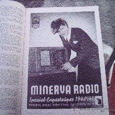 Radios antiguas: ANTIGUA REVISTA MENTOR DE RADIOS. Lote 12238305
