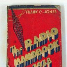Radios antiguas: THE RADIO HANDBOOK 1938 PARA AFICIONADOS Y EXPERIMENTADORES. EDITORIAL PANAMERICA. Lote 26534233