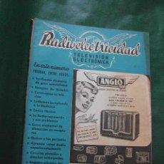 Radios antiguas: REVISTA RADIOELECTRICIDAD N.162 SEPTIEMBRE 1952. Lote 23502263