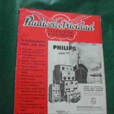 Radios antiguas: REVISTA RADIOELECTRICIDAD N.168 MARZO 1953. Lote 13040242