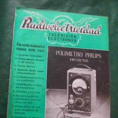Radios antiguas: REVISTA RADIOELECTRICIDAD N.178 ENERO 1954. Lote 13038643