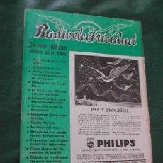 Radios antiguas: REVISTA RADIOELECTRICIDAD N.118 ENERO 1949. Lote 13041284