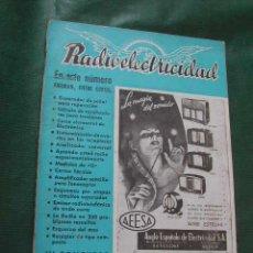 Radios antiguas: REVISTA RADIOELECTRICIDAD N.119 FEBRERO 1949. Lote 13041274