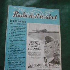 Radios antiguas: REVISTA RADIOELECTRICIDAD N.126 SEPTIEMBRE 1949. Lote 23502259