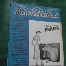 Radios antiguas: REVISTA RADIOELECTRICIDAD N.142 ENERO 1951. Lote 27120433