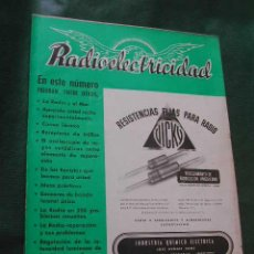 Radios antiguas: REVISTA RADIOELECTRICIDAD N.143 FEBRERO 1951. Lote 13041596