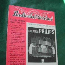 Radios antiguas: REVISTA RADIOELECTRICIDAD N.144 MARZO 1951. Lote 13041572
