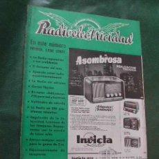 Radios antiguas: REVISTA RADIOELECTRICIDAD N.145 ABRIL 1951. Lote 13041540