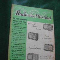 Radios antiguas: REVISTA RADIOELECTRICIDAD N.155 FEBRERO 1952. Lote 13040588