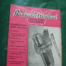 Radios antiguas: REVISTA RADIOELECTRICIDAD N.156 MARZO 1952. Lote 23502262