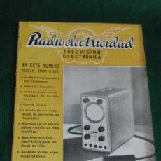 Radios antiguas: REVISTA RADIOELECTRICIDAD N.180 MARZO 1954. Lote 25855411