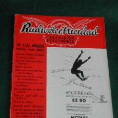 Radios antiguas: REVISTA RADIOELECTRICIDAD N.183 JUNIO 1954. Lote 23241843