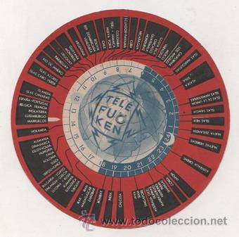 Radios antiguas: INTERESANTE DISCO HORARIO DE TELEFUNKEN - Foto 2 - 13674084