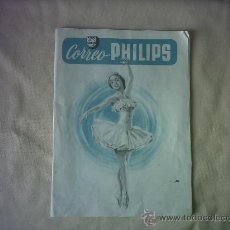 Radios antiguas: PUBLICIDAD CORREO PHILIPS. Lote 26606063