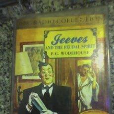 Radios antiguas: JEEVES Y EL ESPIRITU FEUDAL (P.G. WODEHOUSE) - BBC RADIO COLLECTION (CASSETTES) - 1990. Lote 23907013