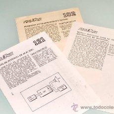 Radios antiguas: MANUALES DE MONTAJE SALES KIT - ESQUEMAS Y ESPECIFICACIONES - ESQUEMA. Lote 54136789