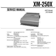 Radios antiguas: SERVICE MANUAL - MANUAL DE SERVICIO DE LA ETAPA DE POTENCIA SONY XM-250X - CAR AUDIO. Lote 27010380
