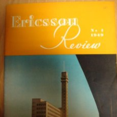 Alte Radios - REVISTA ERICSSON REVIEW RADIO ELECTRONICA NUMERO 1 1949 - 16754781