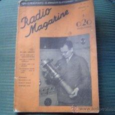 Radios antiguas - Revista de radio Radio Magazine. - 17765229