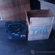 Radios antiguas: AUTOTRANSFORMADOR ESPECIAL TV COLOR. Lote 25495700