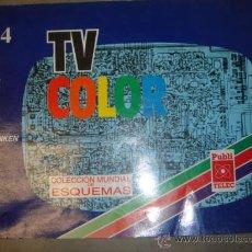 Radios antiguas: LIBRO TECNICO TELEVISION ESQUEMAS MARCAS AKAI GRAETZ ITT SANYO SHARP SONY TELEFUNKEN 1991 VOL 4. Lote 20889315