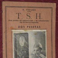 Radios antiguas: GUÍA PRÁCTICA DEL RADIOAFICIONADO Y DEL RADIOCONSTRUCTOR POR R. FREUND DE ED. IBÉRICAS EN MADRID S/F. Lote 20983663