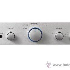 Radios antiguas: MANUAL DE SERVICIO DEL PREAMPLIFICADOR ROTEL RC-1070. Lote 27010366