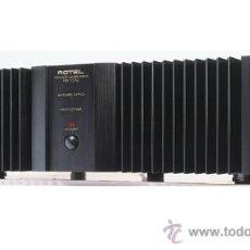 Radios antiguas: MANUAL DE SERVICIO DE LA ETAPA DE POTENCIA ROTEL RB-1070 (2 X 120 W). Lote 27010369