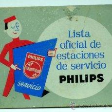 Radios antiguas - Lista oficial Estaciones de Servicio Philips 1963 - 22264014