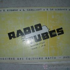 Radios antiguas: RADIO TUBES PARIS. Lote 24794032