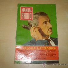 Radios antiguas: MANUAL RADIO
