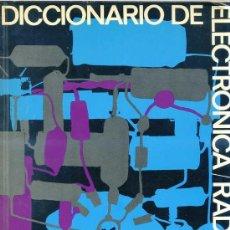 Radios antiguas: DICCIONARIO DE ELECTRÓNICA / RADIO / TV AFHA (1973). Lote 27090390