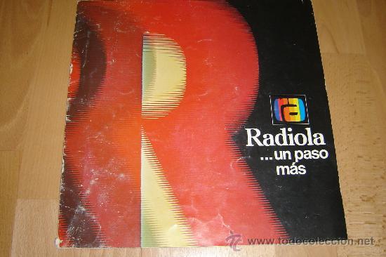 CATALOGO RADIOLA 1976.TELEVISION ,RADIO,TRANSISTORES,MAGNETOFONOS. (Radios, Gramófonos, Grabadoras y Otros - Catálogos, Publicidad y Libros de Radio)