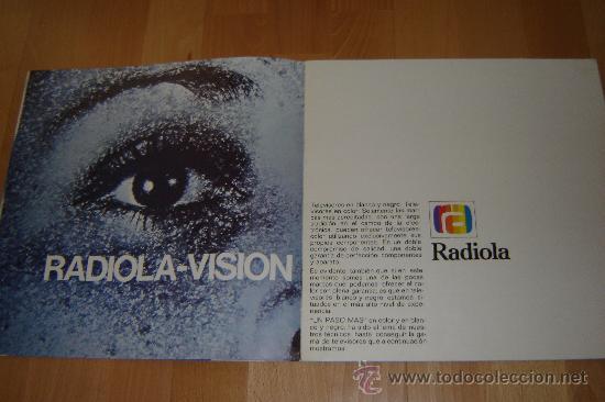 Radios antiguas: catalogo radiola 1976.television ,radio,transistores,magnetofonos. - Foto 3 - 27551727
