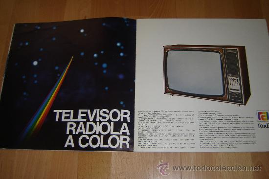 Radios antiguas: catalogo radiola 1976.television ,radio,transistores,magnetofonos. - Foto 4 - 27551727