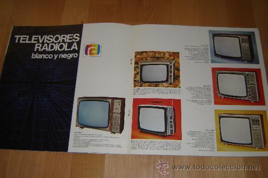 Radios antiguas: catalogo radiola 1976.television ,radio,transistores,magnetofonos. - Foto 5 - 27551727