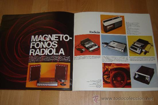 Radios antiguas: catalogo radiola 1976.television ,radio,transistores,magnetofonos. - Foto 7 - 27551727