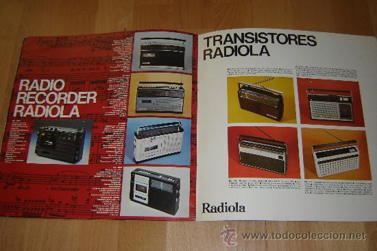 Radios antiguas: catalogo radiola 1976.television ,radio,transistores,magnetofonos. - Foto 8 - 27551727