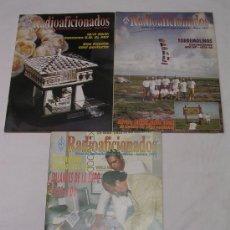 Radios antiguas: UNIÓN RADIOAFICIONADOS ESPAÑOLES URE - LOTE DE 3 REVISTAS DEL AÑO 1993 - EXCELENTE ESTADO. Lote 27648755